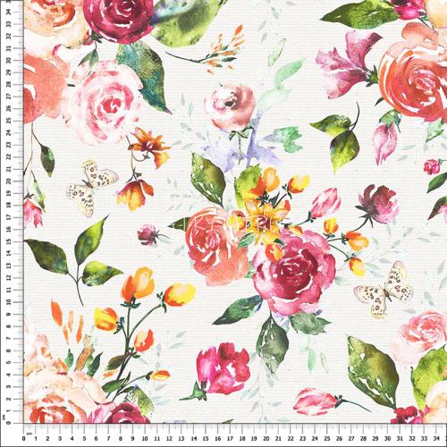 č.1611 růže - dekorační