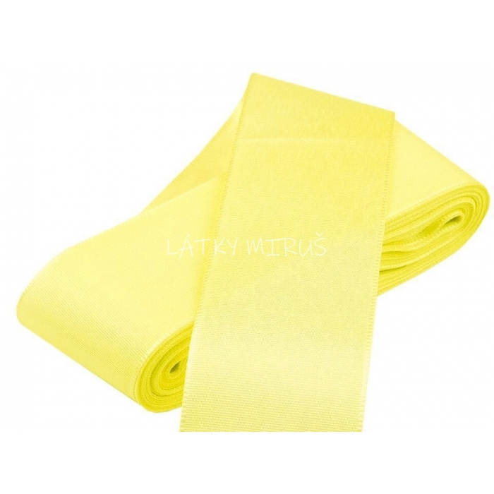 Stuha taftová sv.žlutá (10m)
