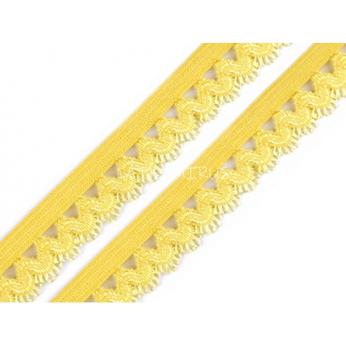 Ozdobná pruženka 440601 - žlutá