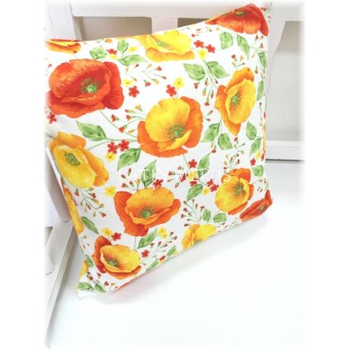 Povlak40x40 Makovice oranžové