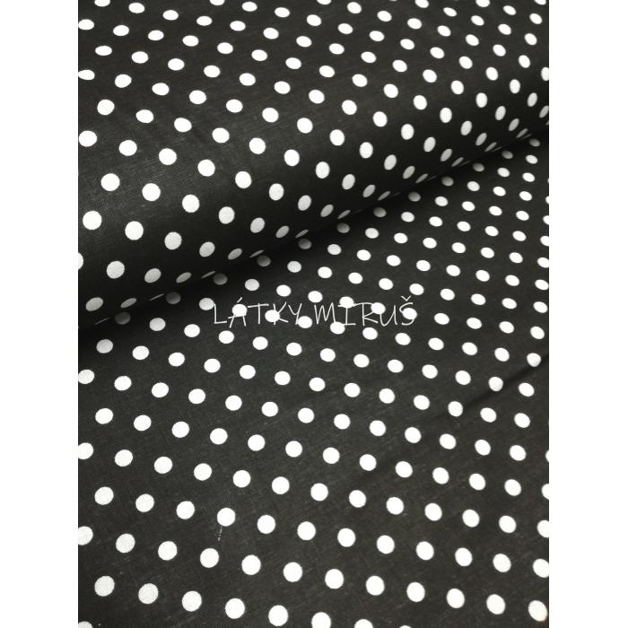 č.6011 puntík na černé