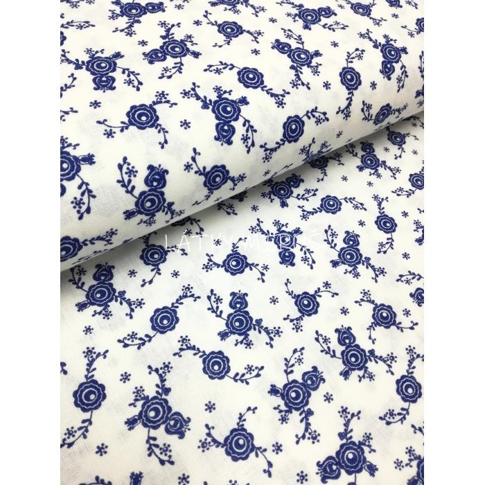 č.2124 květ venkovský modrý