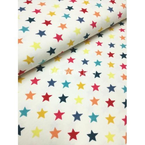 Úplet - hvězdy na smetanové