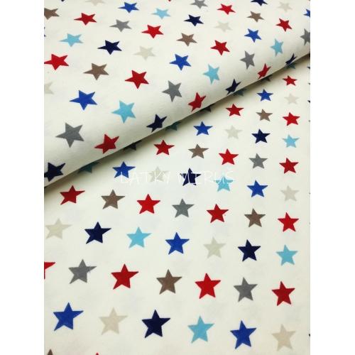 Úplet - hvězdy modré
