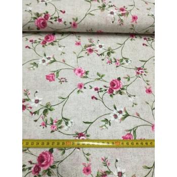 č.3160 slezová růže - dekorační