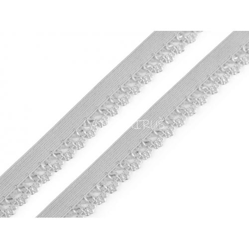 Ozdobná pruženka - šedá 440756