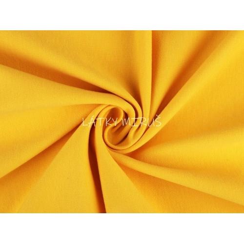 Teplákovina - tm.žlutá RU
