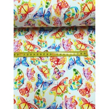 Teplákovina - motýli barevní