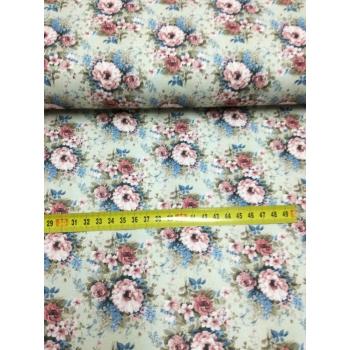 č.329 květy na šedé