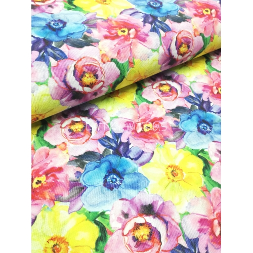 č.1033 květy - dekorační