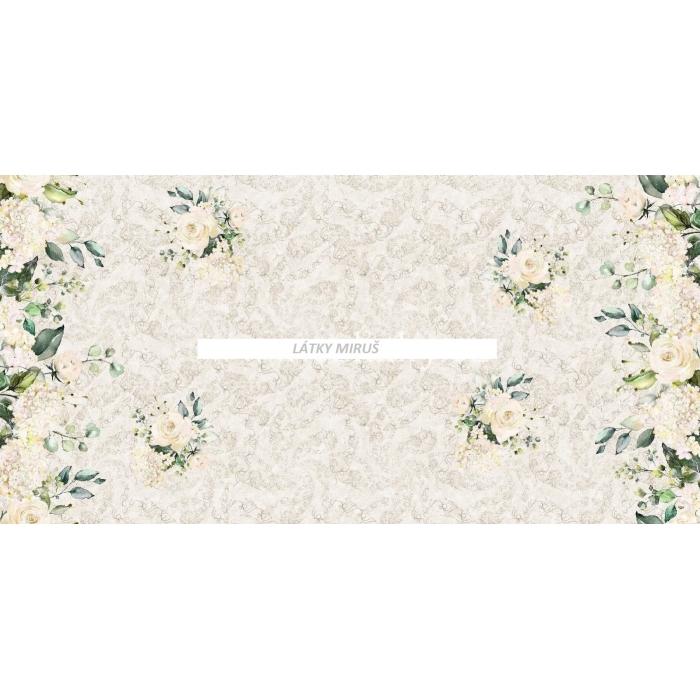 Bordura  - Flower - růže