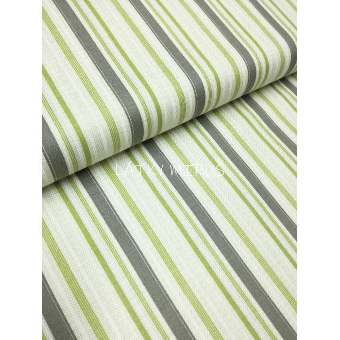 č.496 pruhy šedé a zelené
