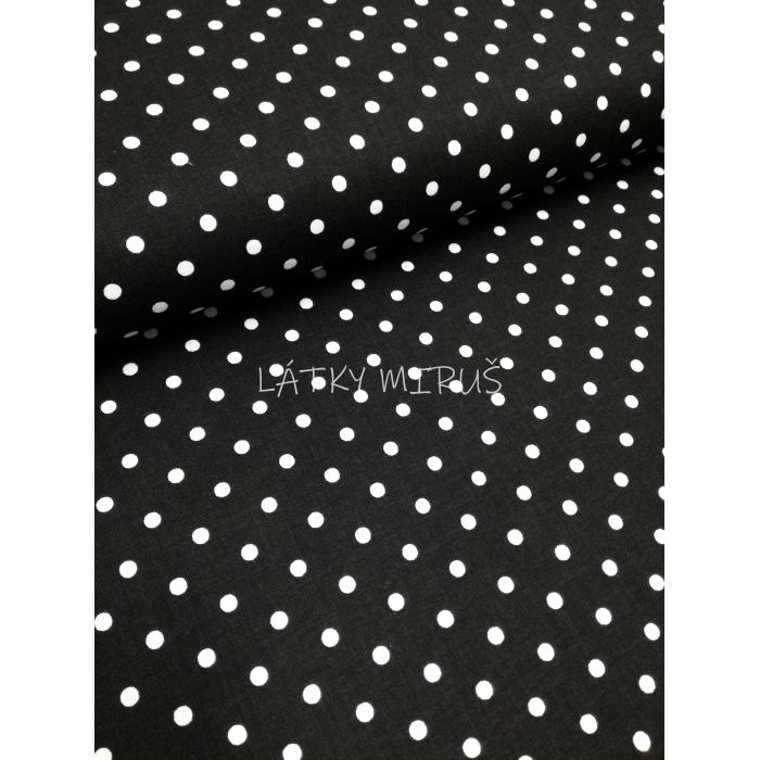 č.5029 puntík na černé