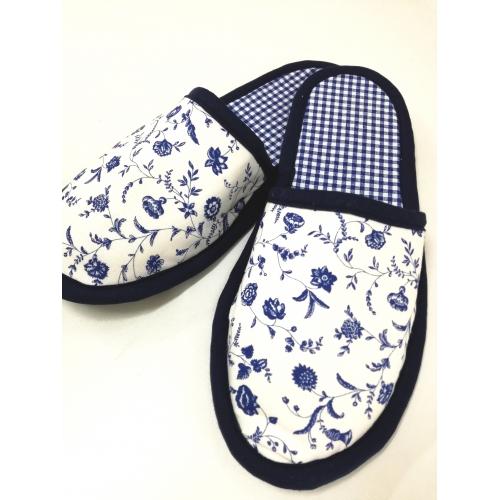 Papuče - Cibulák v modrém