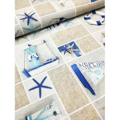 Námořní patchwork - dekorační