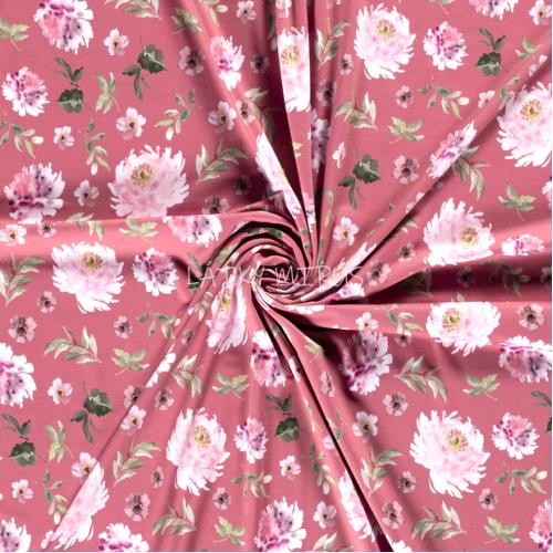 č.1464 úplet - květy