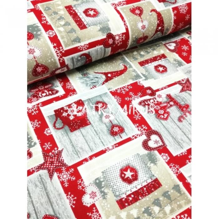 č.9248 vánoční patchwork