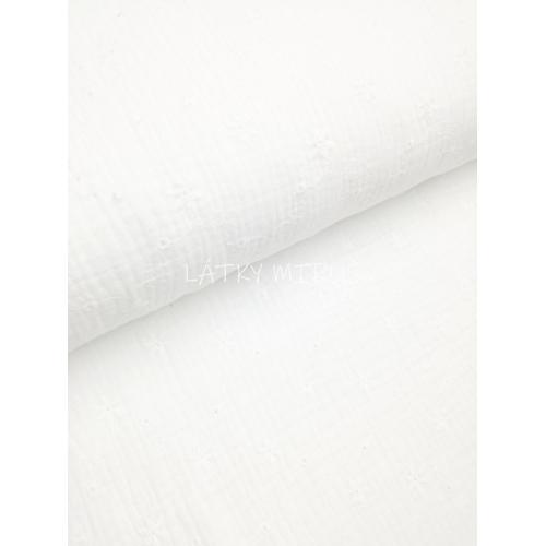 Plenkovina - mušelín vyšivaný 15140-050
