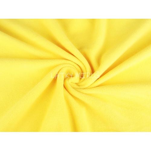 Polar fleece žlutá sv.