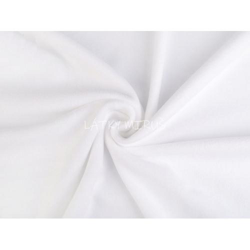 Polar fleece bílá