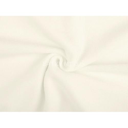 Polar fleece of white