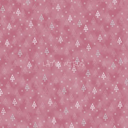 č.9141 stromky na růžové