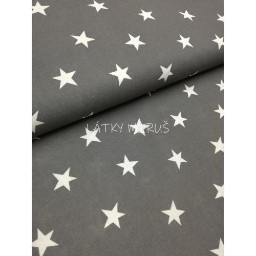 č.696 hvězdy na šedé .