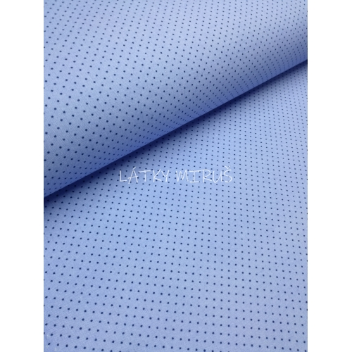 č.7046 puntík modrý