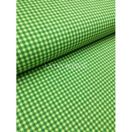 č.7044 káro zelené