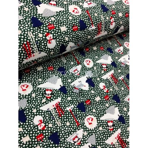 č.7052 zimní radovánky - zelené