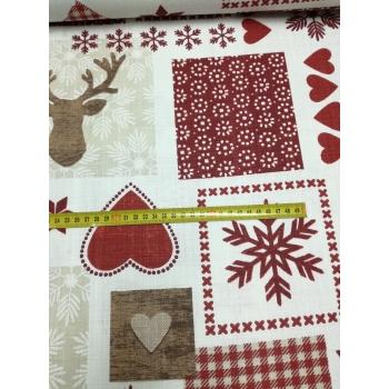 č.9080 zimní patchwork