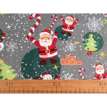 č.9054 vánoční látka