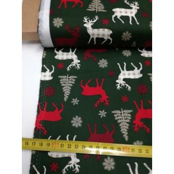 č.9070 jeleni na zelené