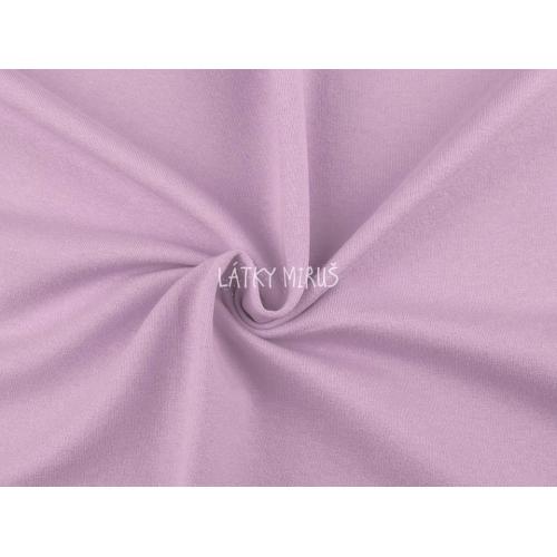 Bavlněný úplet š.235cm - fialový