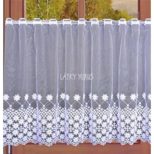 Záclona - KB81446/90cm