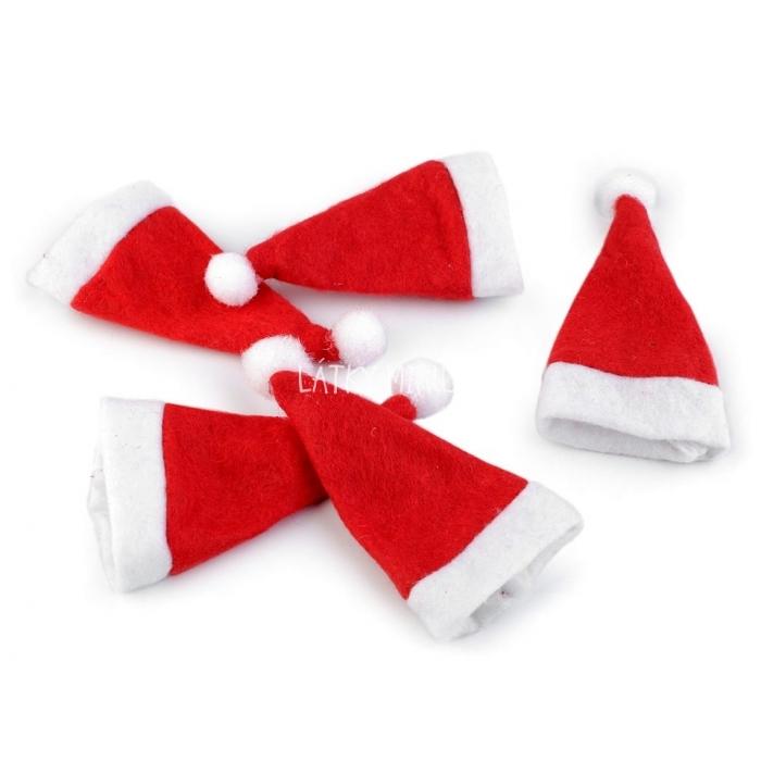 Mini vánoční čepice