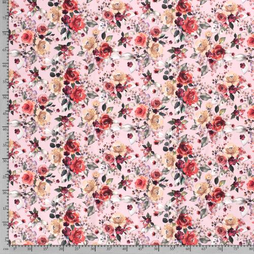 č.2636 úplet - květy