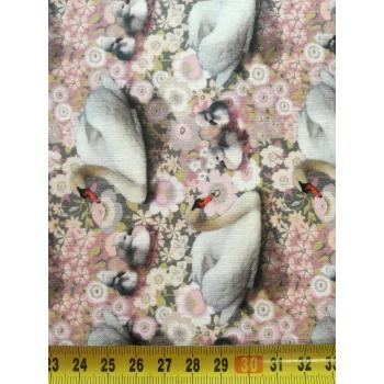 č.2576 labutě - digi tisk