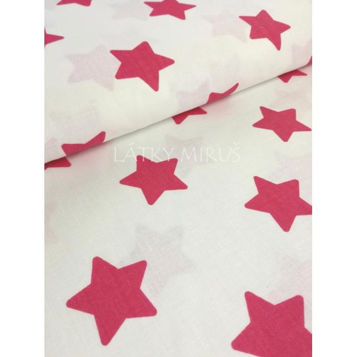 č.2878 hvězdy sytě růžové