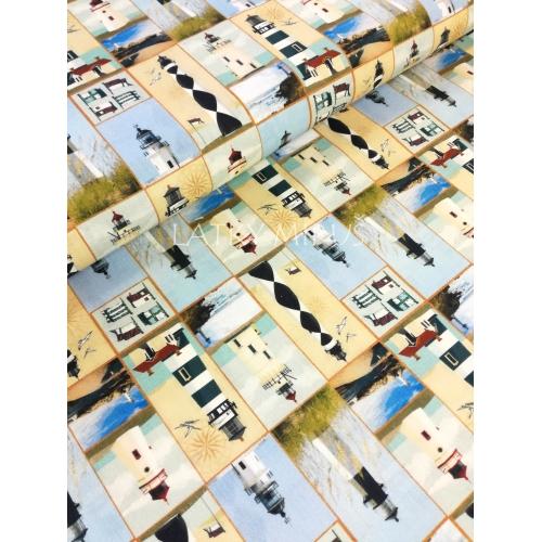 č.26 majáky - 16x115cm - digi tisk