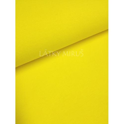 Patent - náplet - žlutý