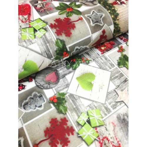 č.2117 vánoční - digitální tisk