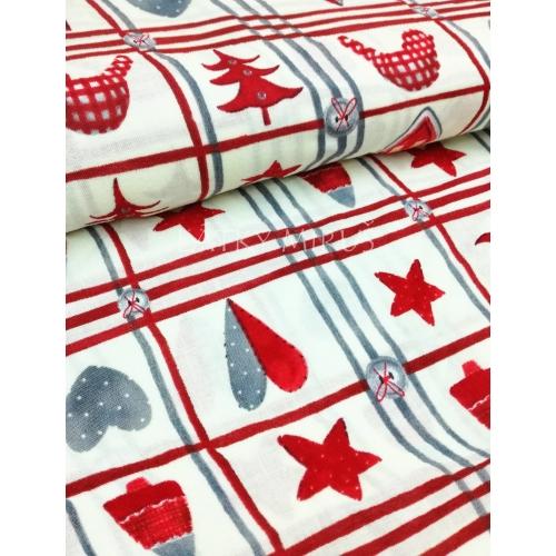 č.9155 vánoční patchwork