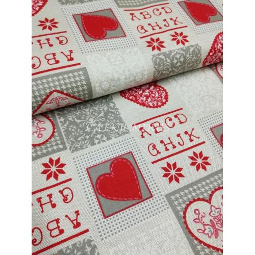 č.9278 vánoční patchwork