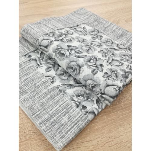 Ubrus růže šedé 62x62