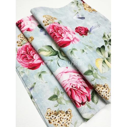 Ubrus růže 70x70