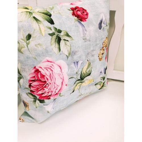 Povlak na polštář růže 45x45 digi tisk