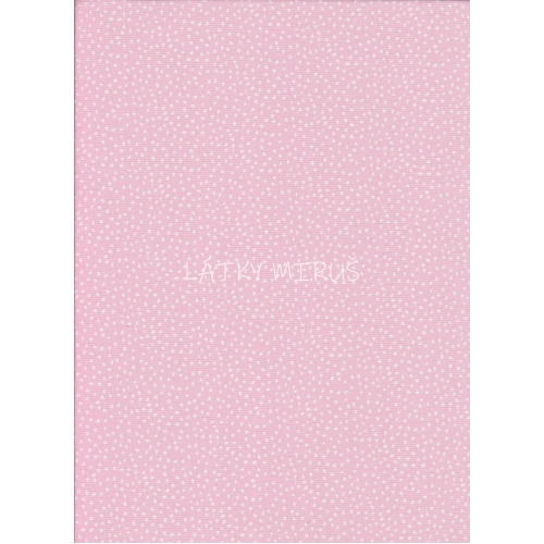 č.2916 tečky na růžové