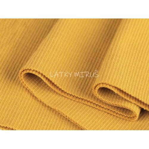 Náplet (15x80cm) žlutá šafránová