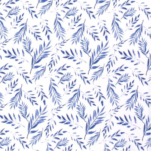 Úplet - listy modré
